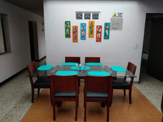 Hostal Tamarindo Dining Room
