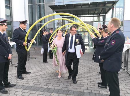 Gratulation Birgit und Harald