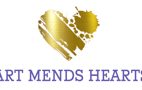 The Art Mends Hearts Logo