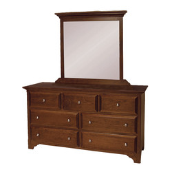 Richfield Double Dresser and Mirror