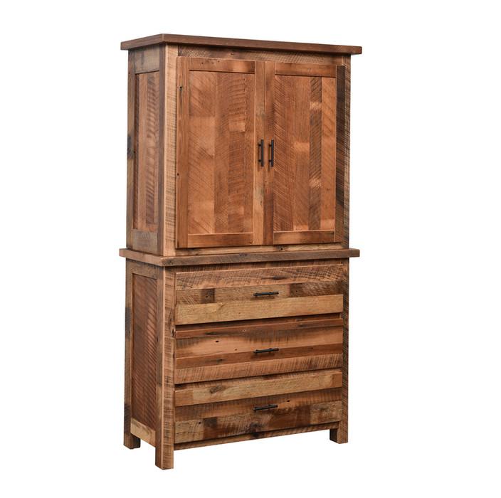 3-Drawer 2-Door Armoire