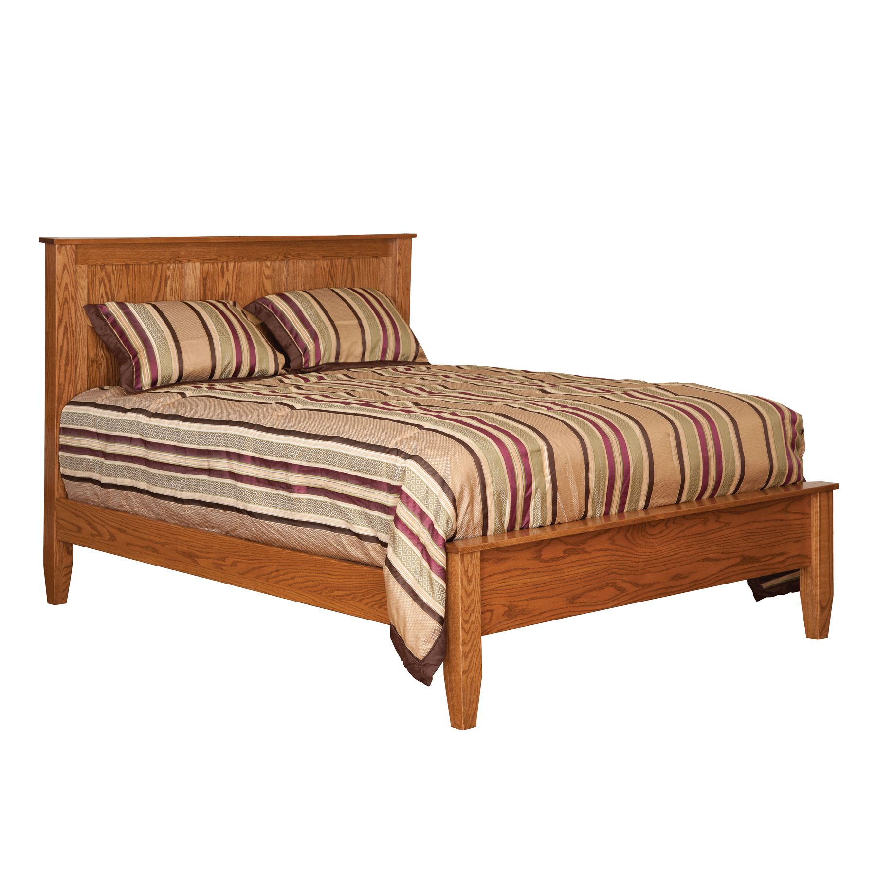 English Shaker Panel Bed with Lowfoot