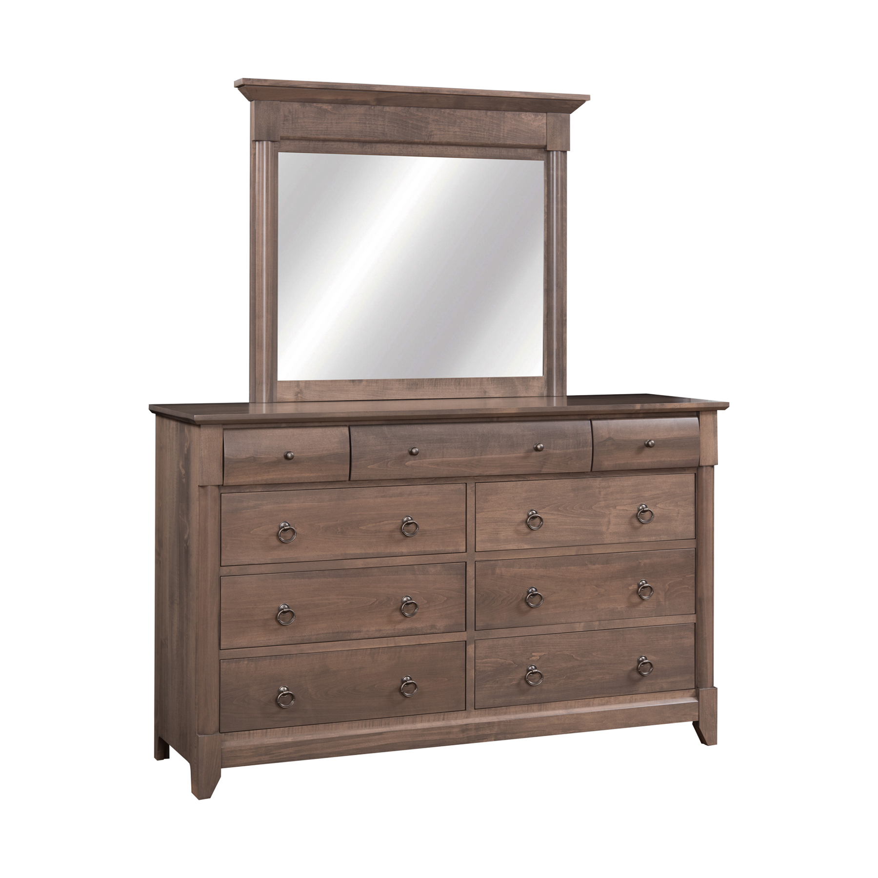 Mule Dresser with Mirror