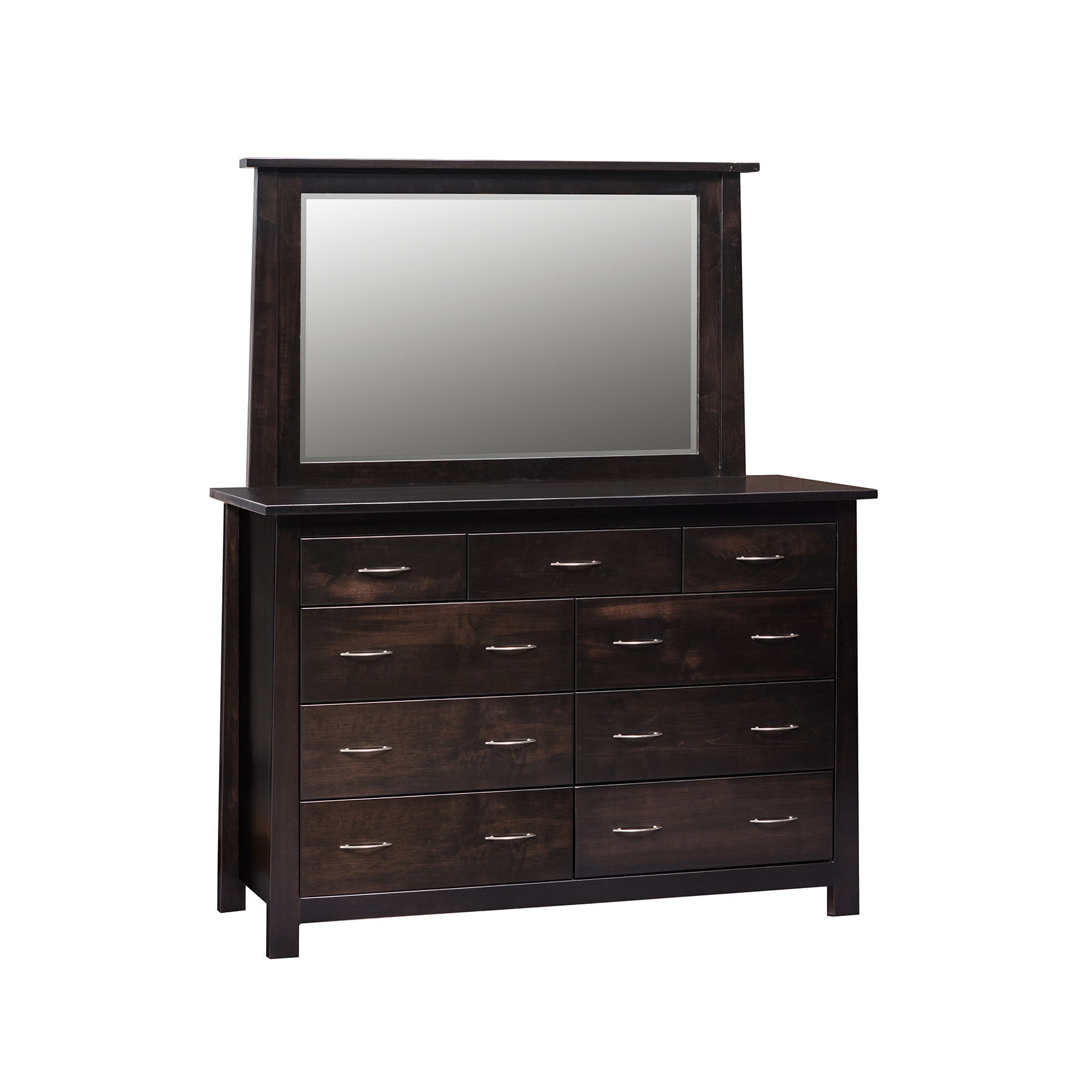 Burlington Double Mule Dresser and Mirro