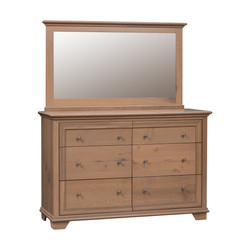Pacific Heights Double Mule Dresser and