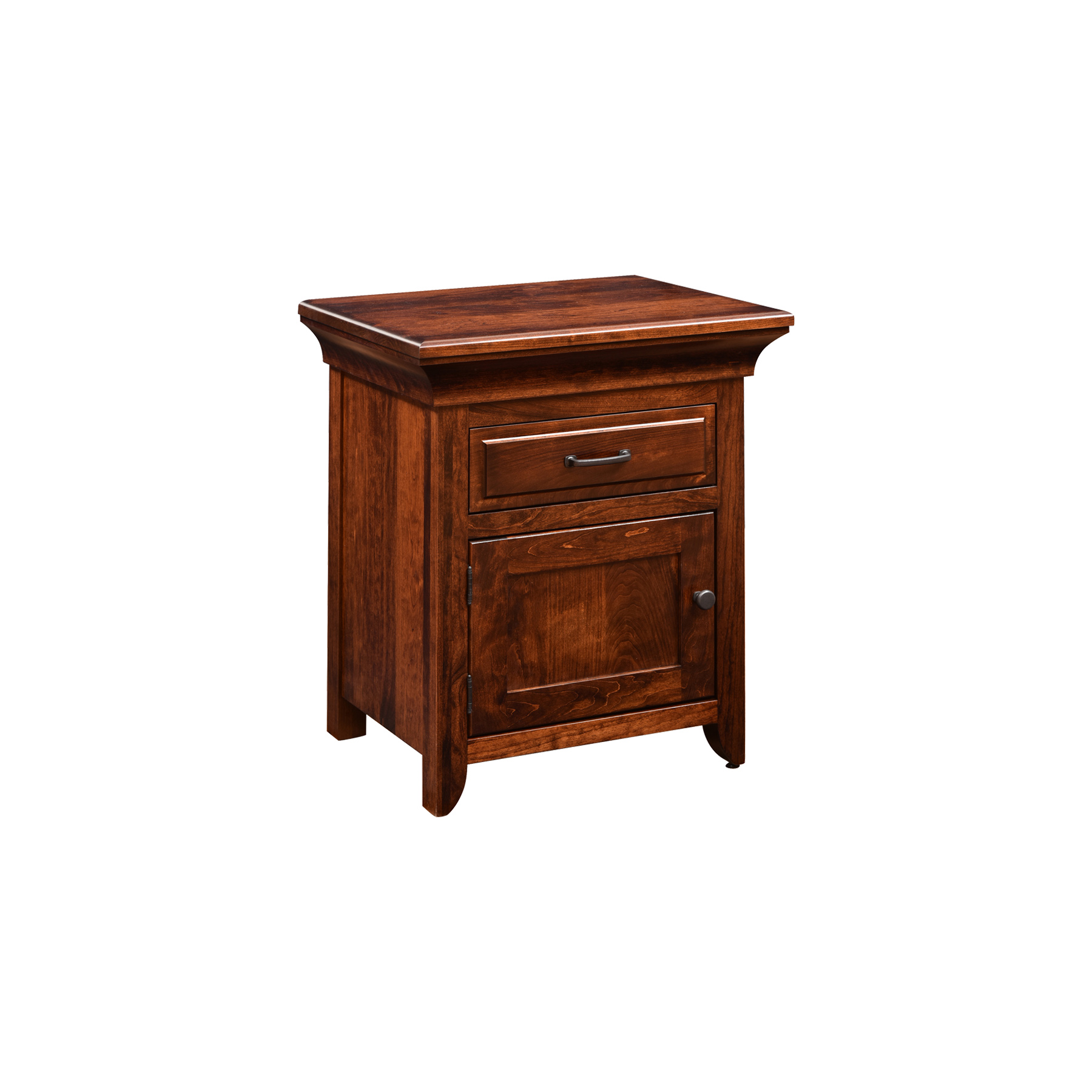 1 Door 1 Drawer Nightstand