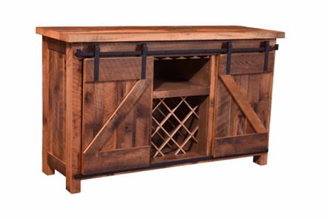 Barn Door Wine Server