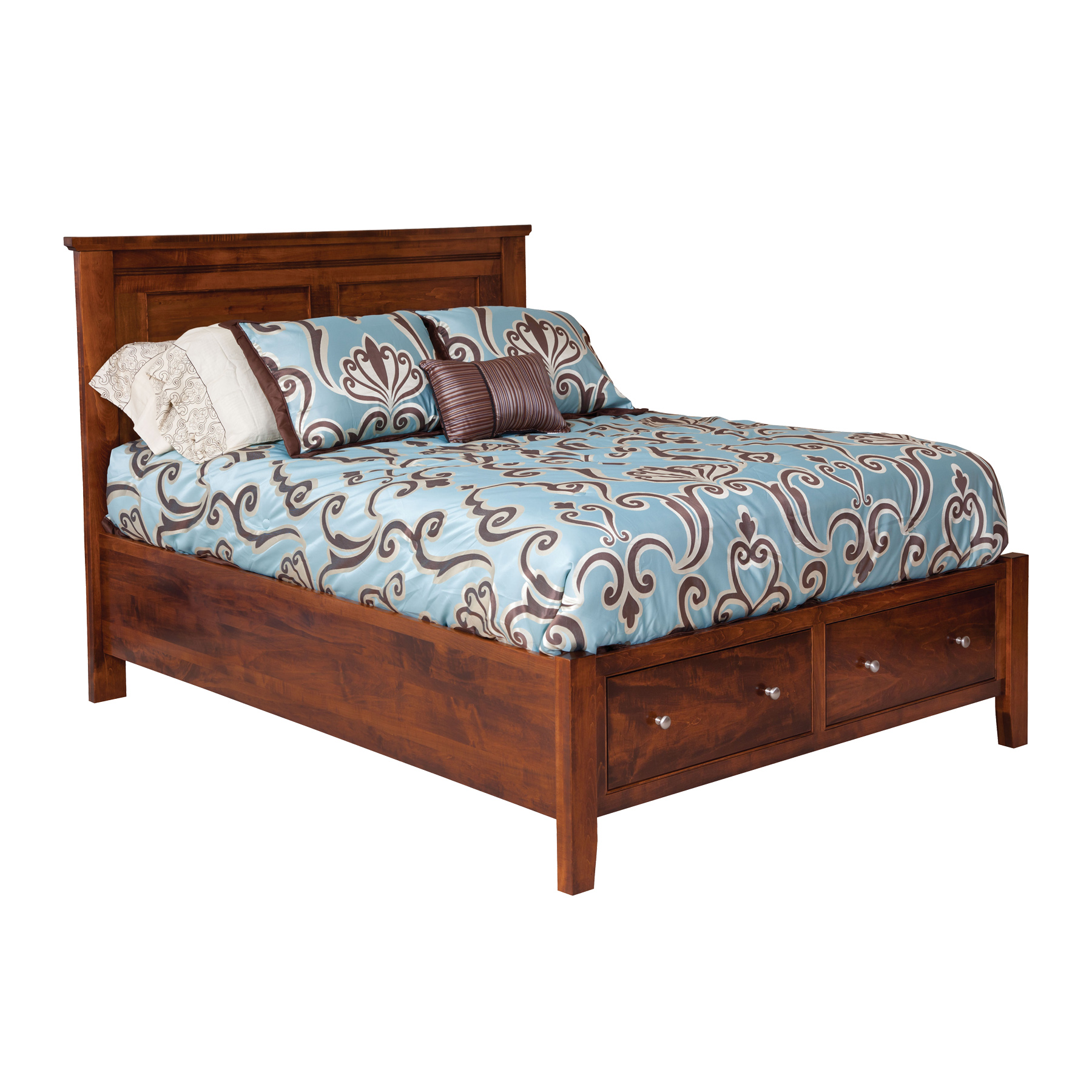 Hyland Park Panel Bed with Drawers