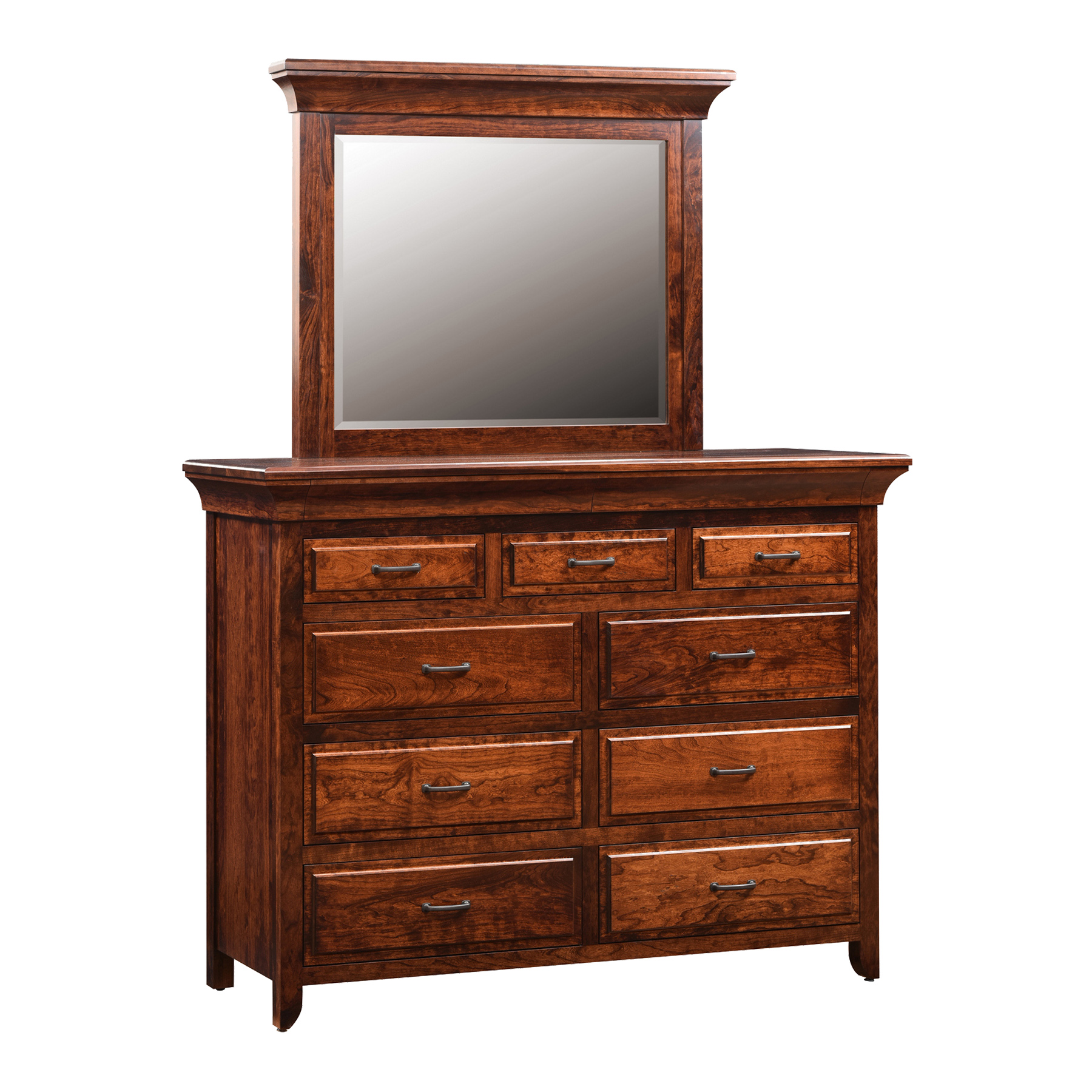 Mule Dresser with Mirror