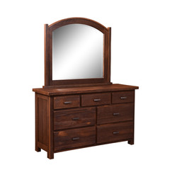 Quincy Mirror and 7-Drawer Dresser