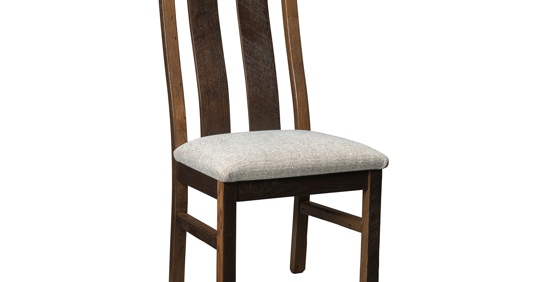 Bristol Side Chair with Upholstered Seat