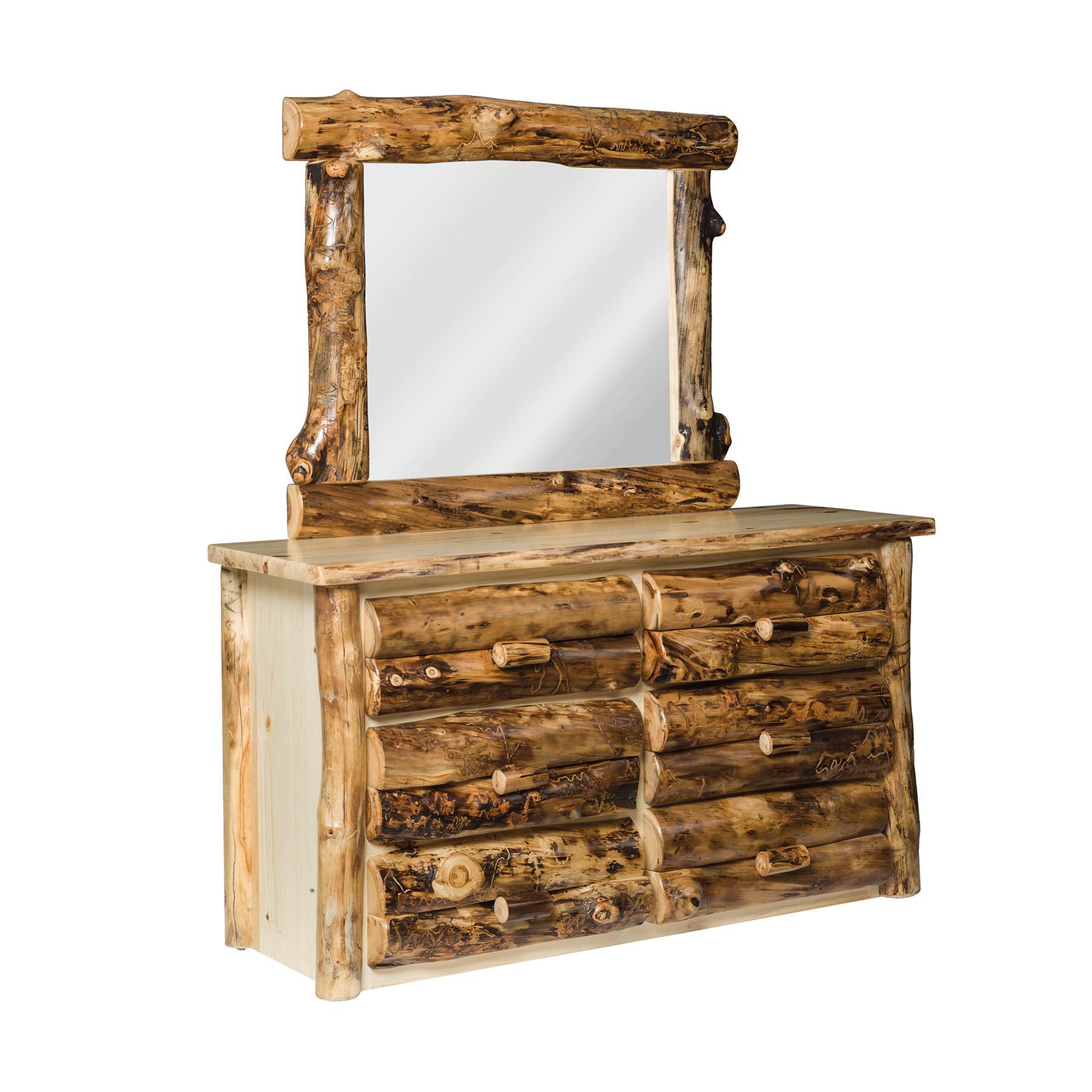 6 Drawer Dresser and Mirror