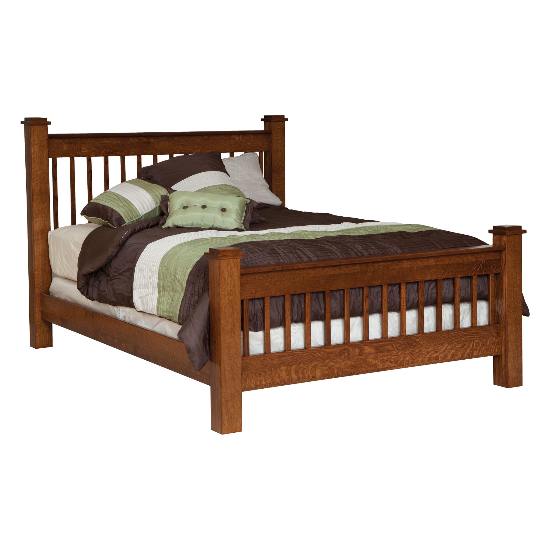 Michael's Mission Slat Bed