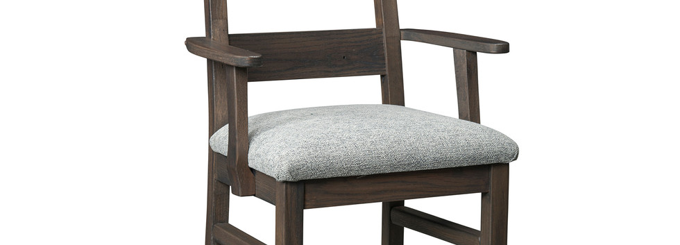 Brighthouse Arm Chair with Upholstered Seat