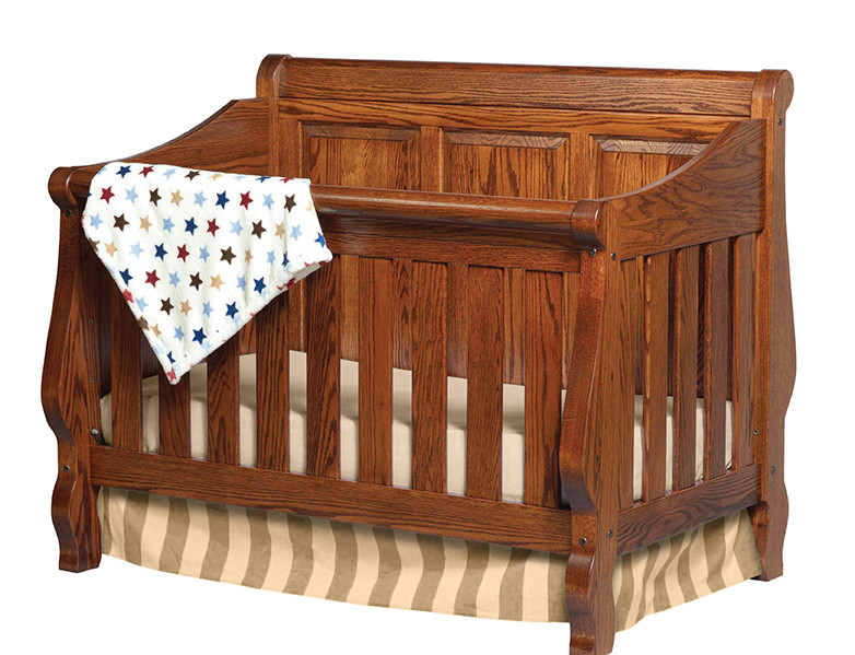 Heirloom Crib (with Panel Back)