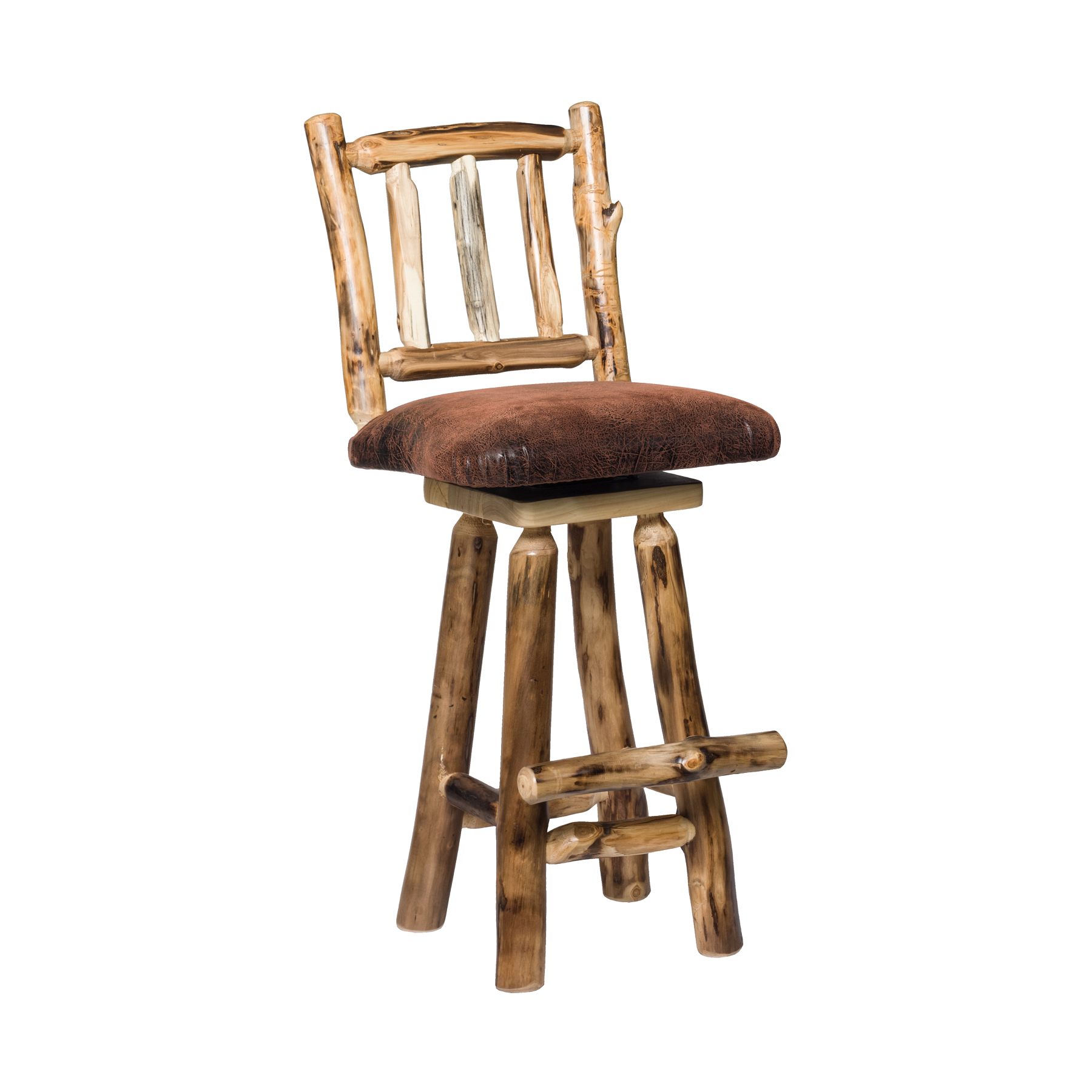 Leather Aspen Bar Stool