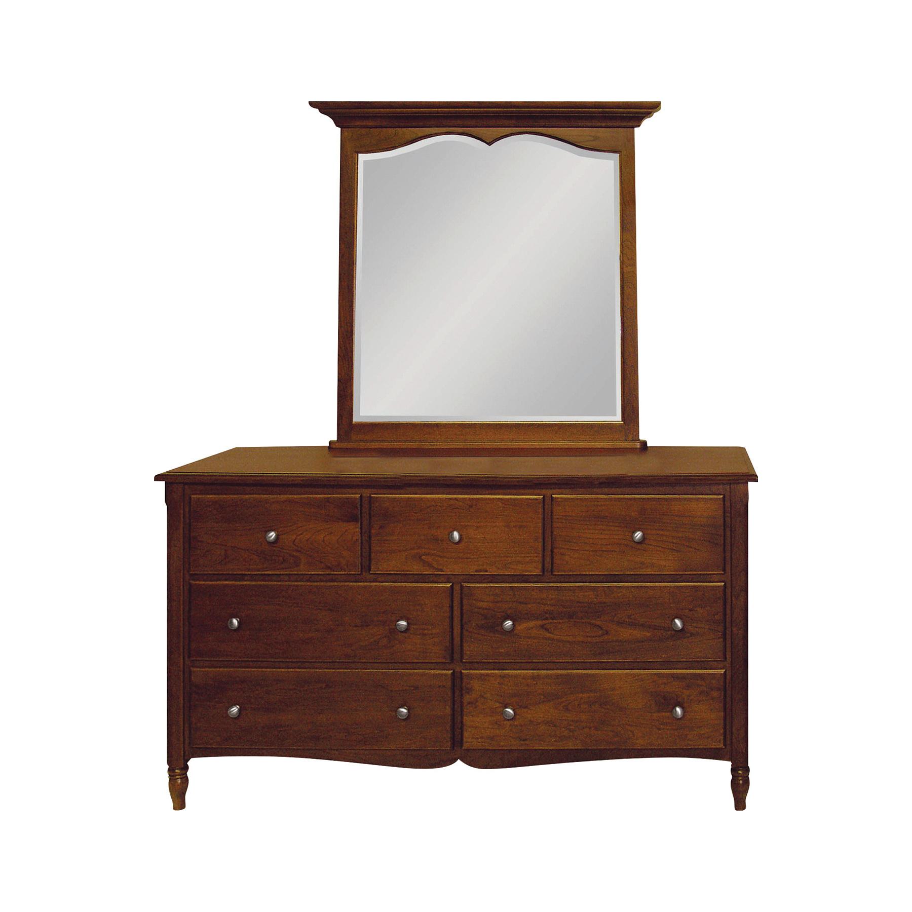 Delafield Double Dresser and Mirror