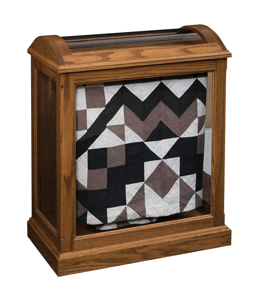 Enclosed Base Quilt Curio