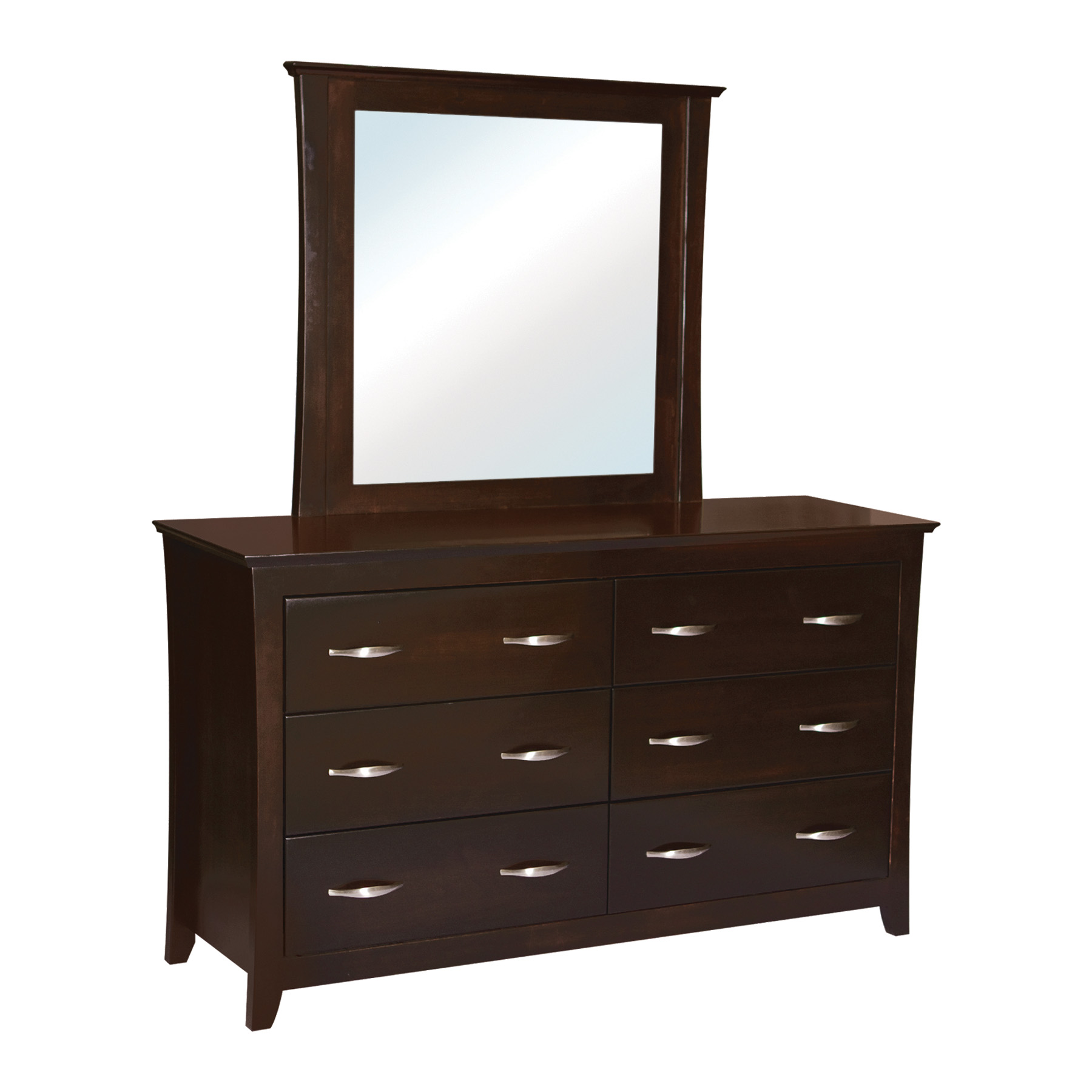 Willmington Double Dresser with Mirror