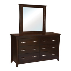 Willmington Double Dresser with Mirror