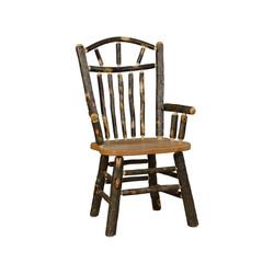 Wagon Wheel Arm Chair