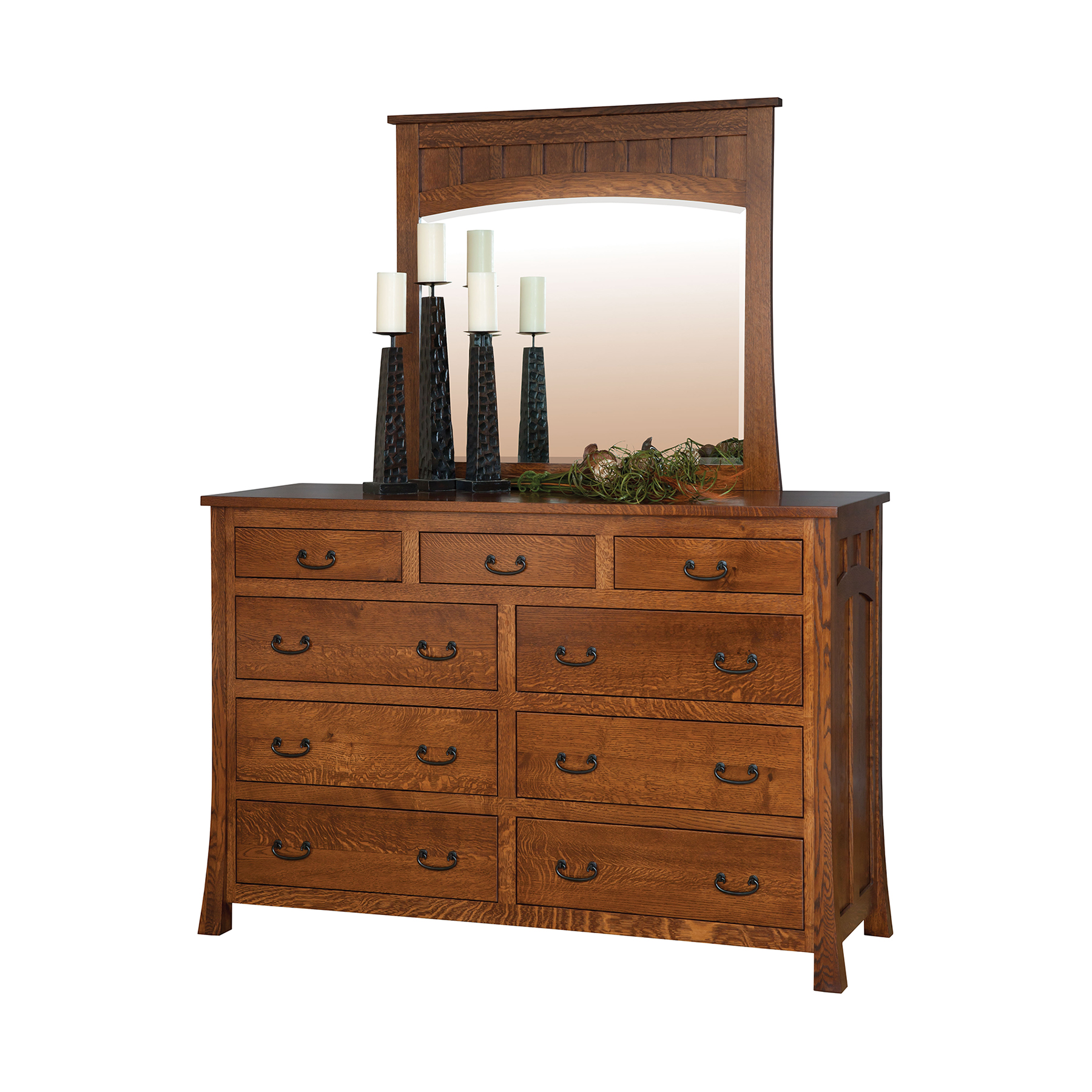 Bridgeport Mule Dresser and Mirror