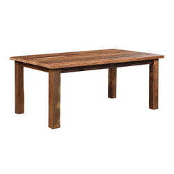 Almanzo Solid Top Table
