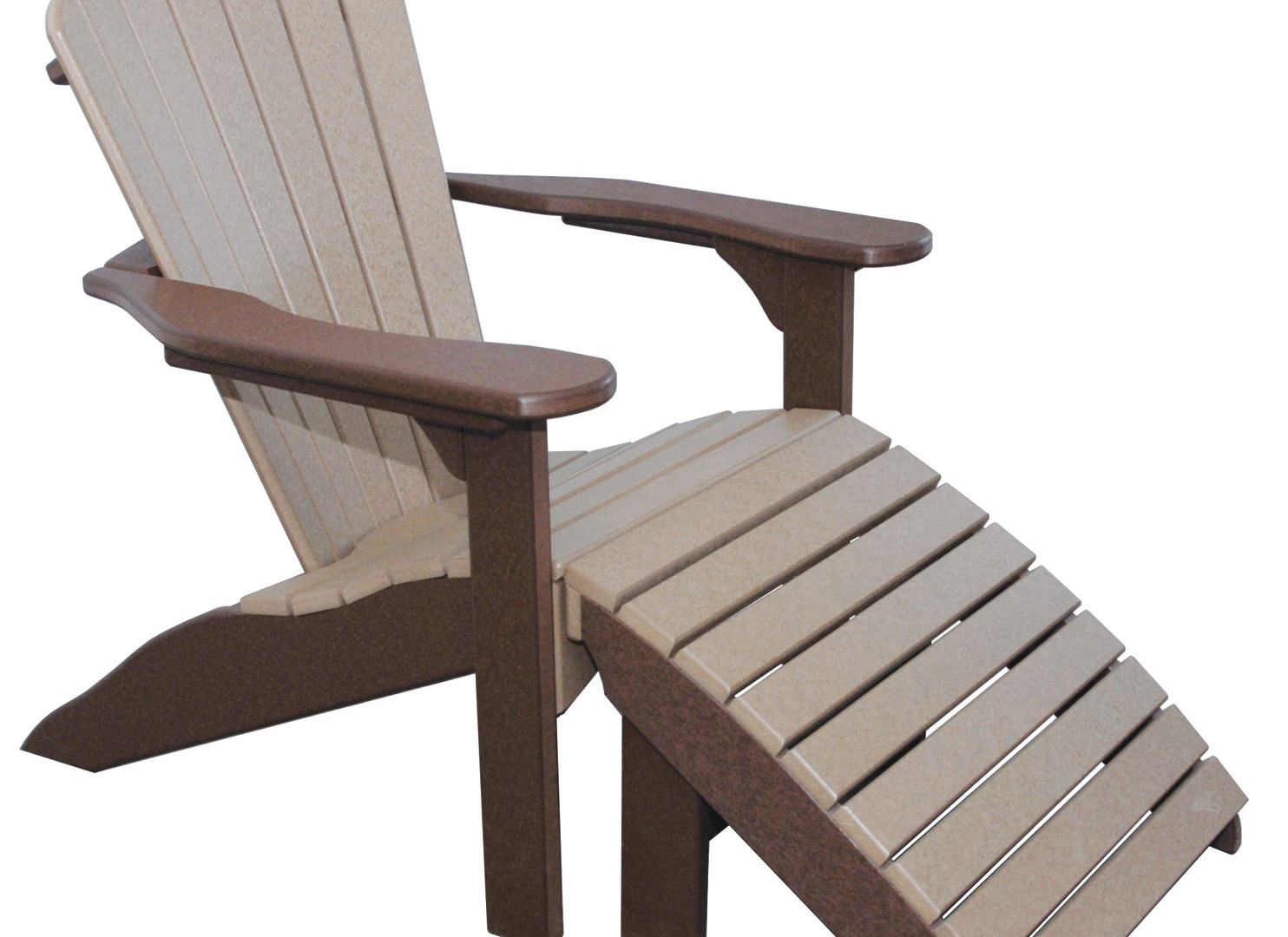 Daisy Adirondack Chair with Footstool