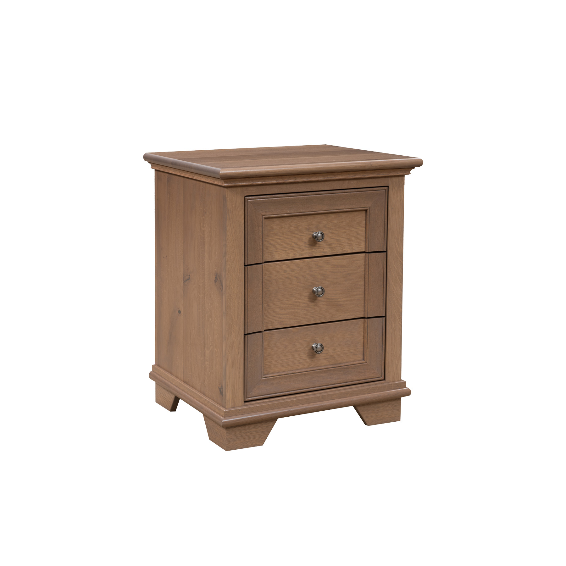 Pacific Heights 3 Drawer Nightstand