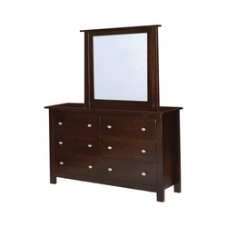 Belleville Double Dresser and Mirror