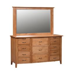 Carlisle Triple Dresser and Mirror