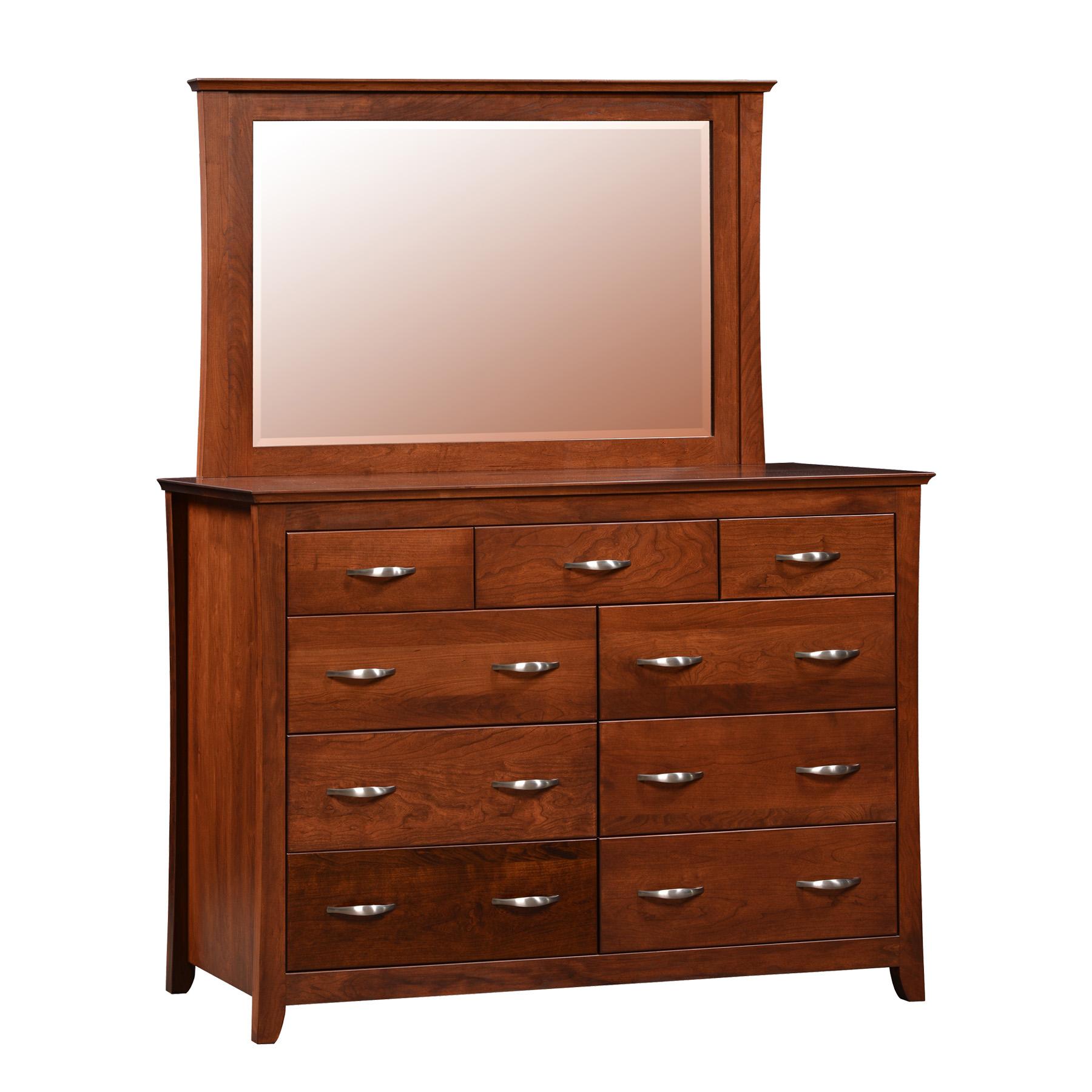 Lexington Double Mule Dresser and Mirror
