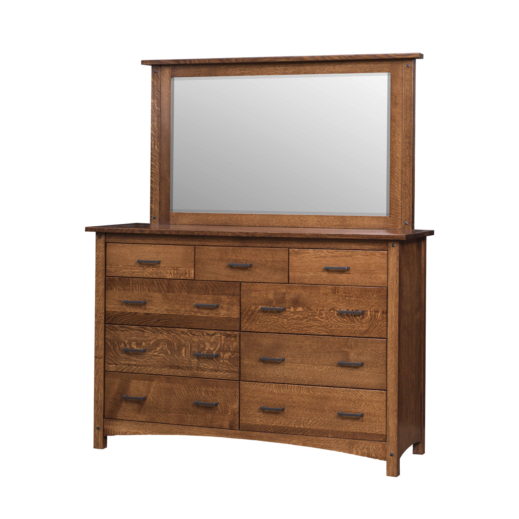 Emory Grand Double Mule Dresser and Mirr
