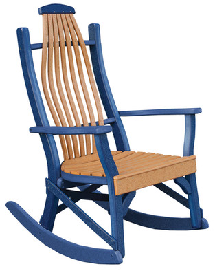 Cedar On Patriot Blue
