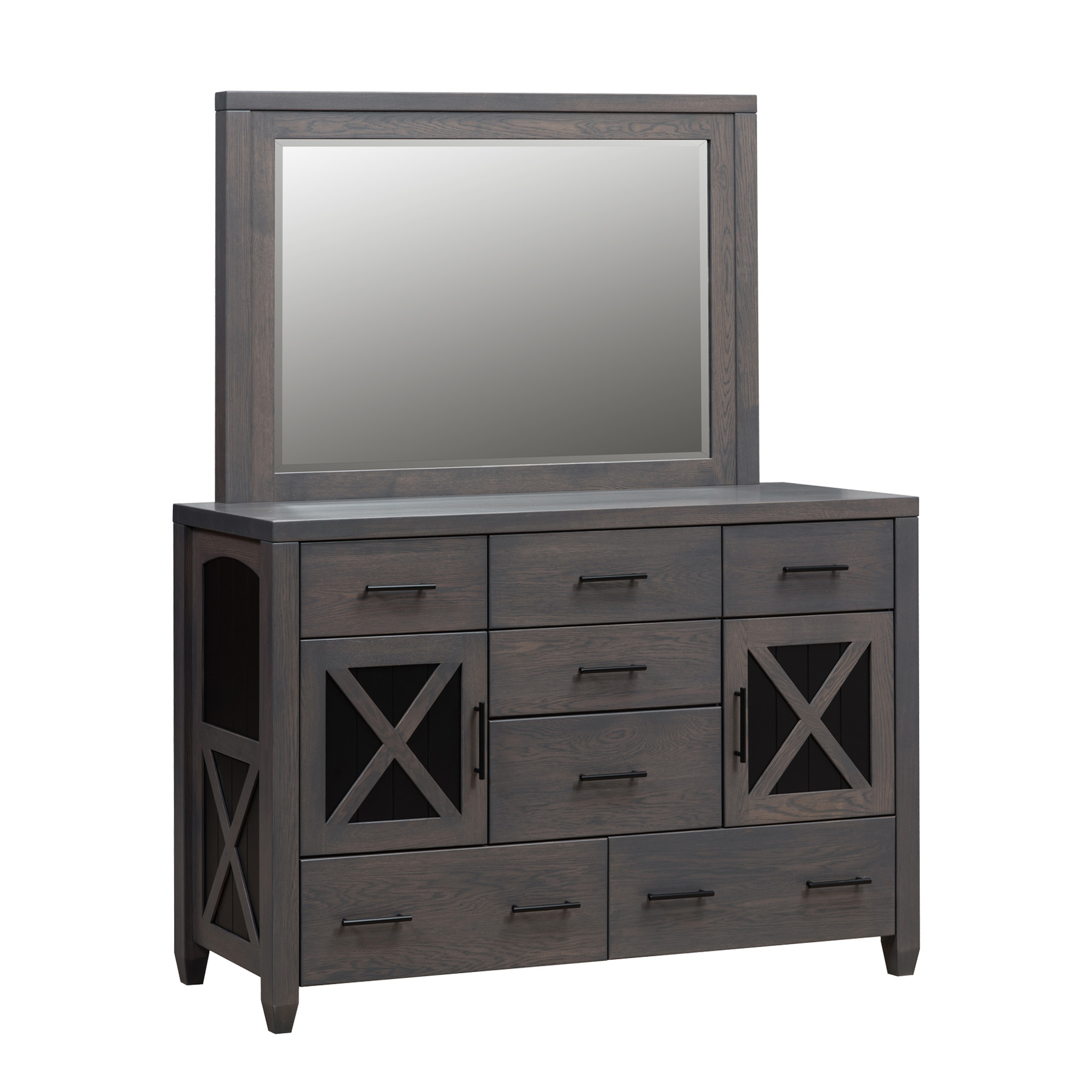 Nasua Double Dresser and Mirror