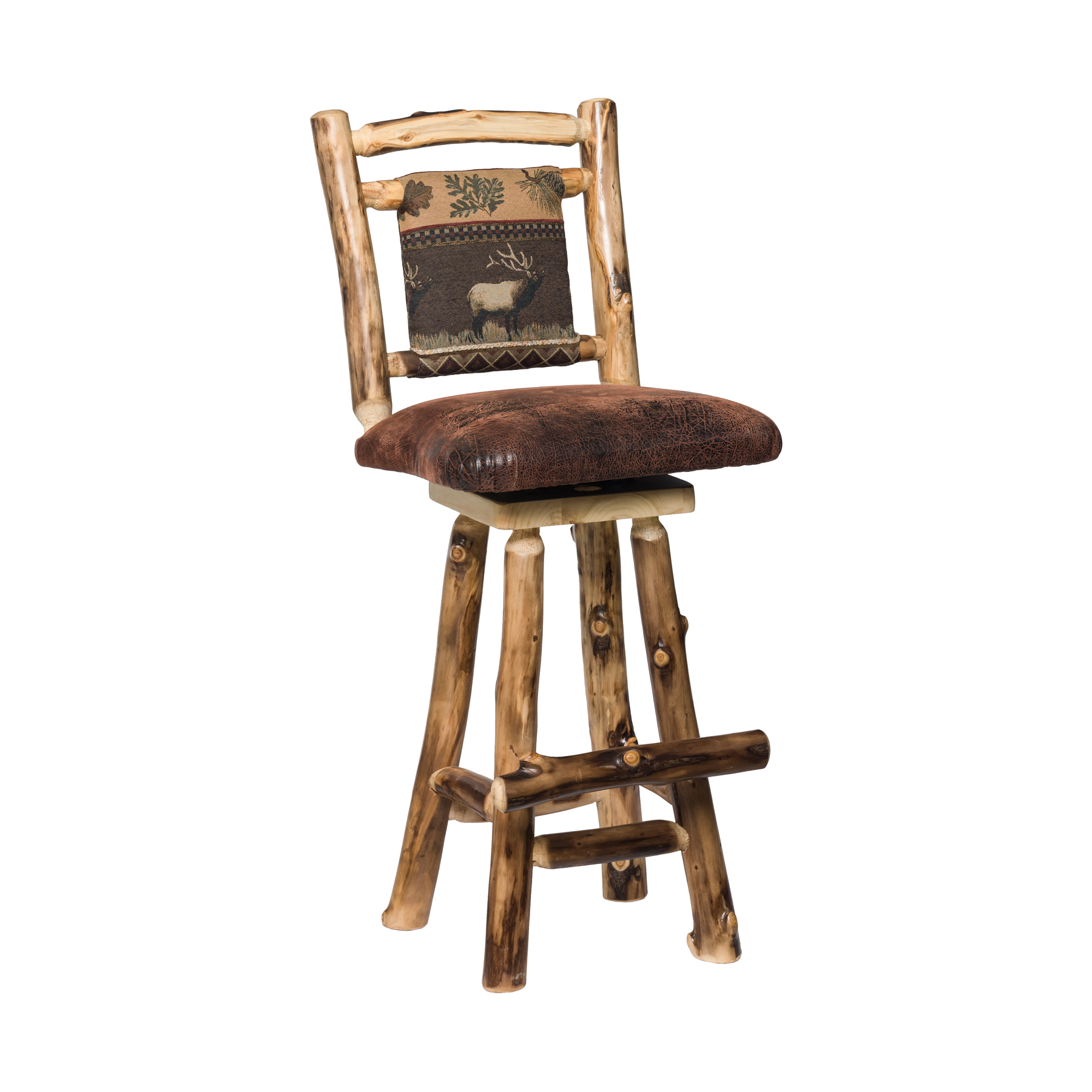 Padded Back Aspen Bar Stool