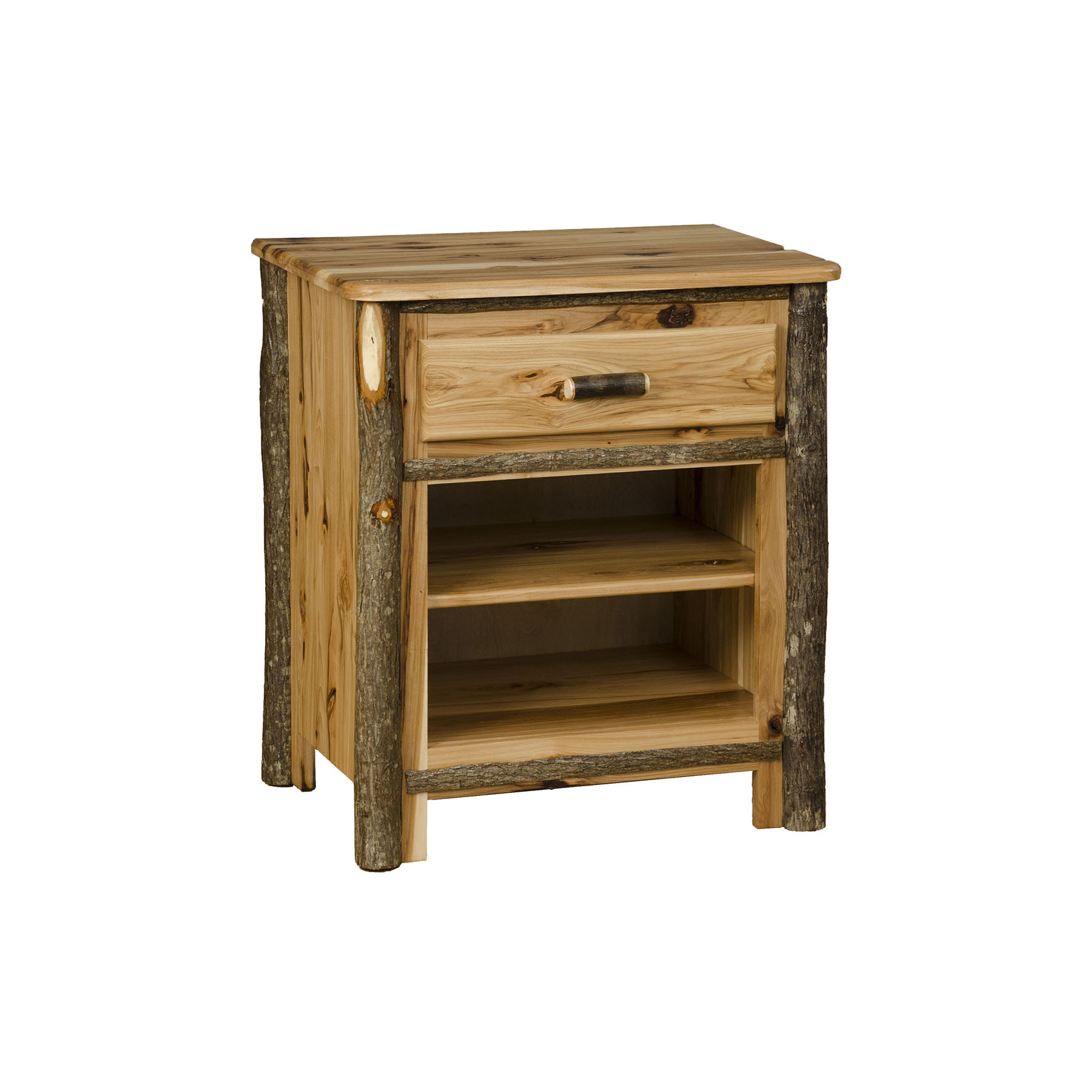 1 Drawer 2 Shelf Night Stand