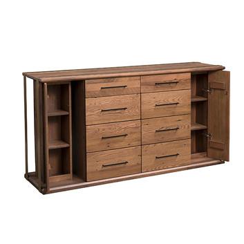 8-Drawer Dresser - Open