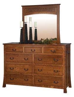Mule Dresser with Mule Mirror