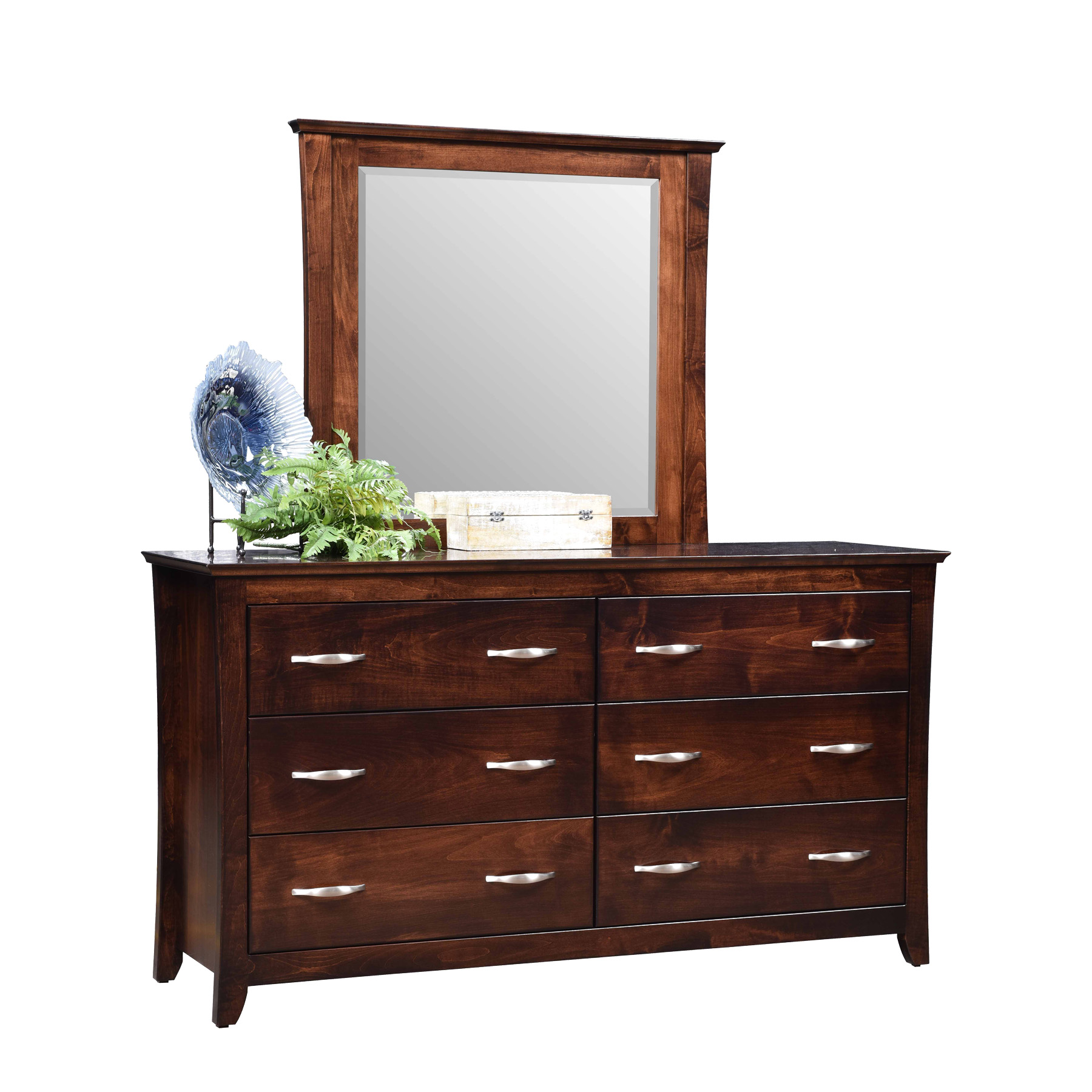 Willemington Double Dresser and Mirror