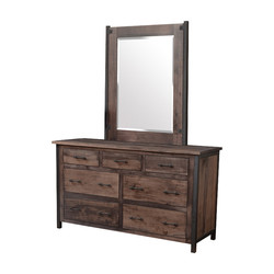 Low Dresser with Mirror