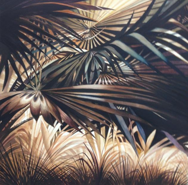 A-Florida Foliage 22x22