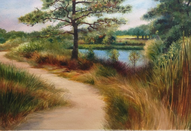 A-Pathway by the Water 11x15