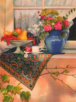 Still Life in Provence - Giclee