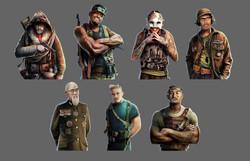 World of Tanks - Male Portraits