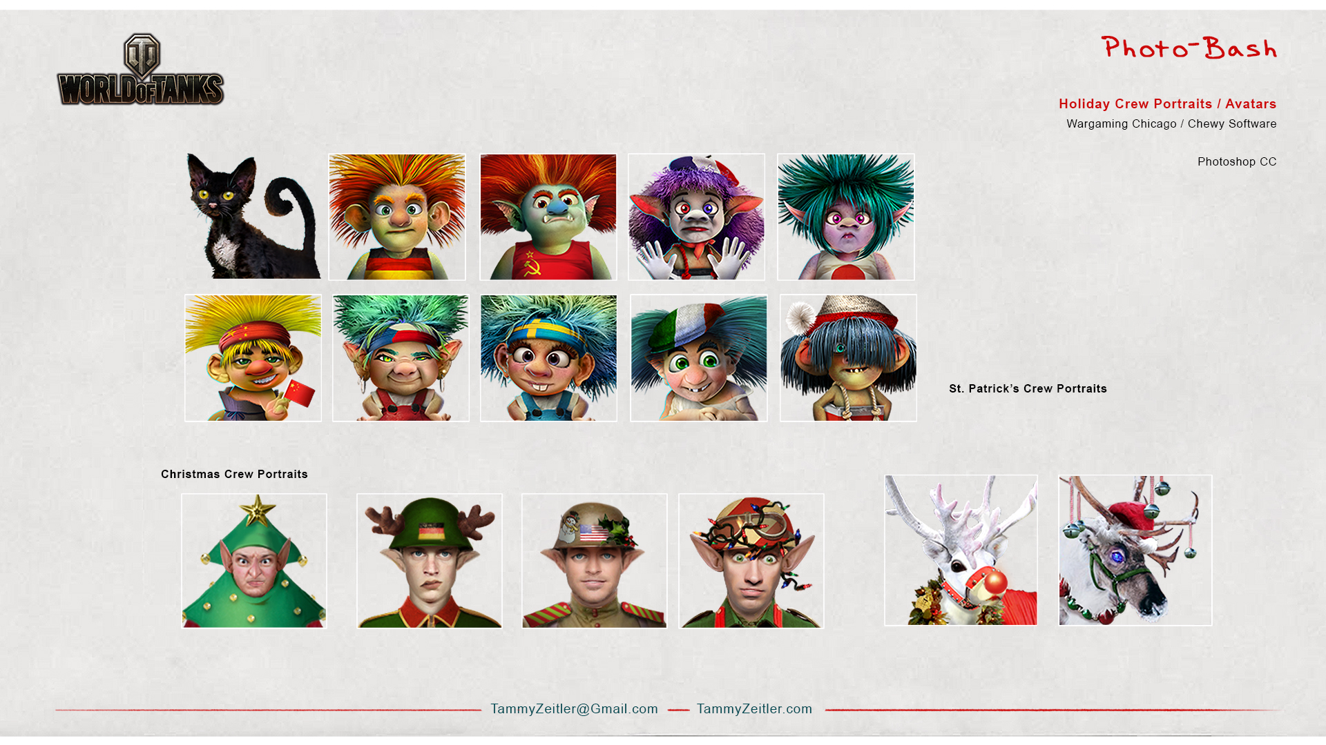 World of Tanks - Holiday Avatars