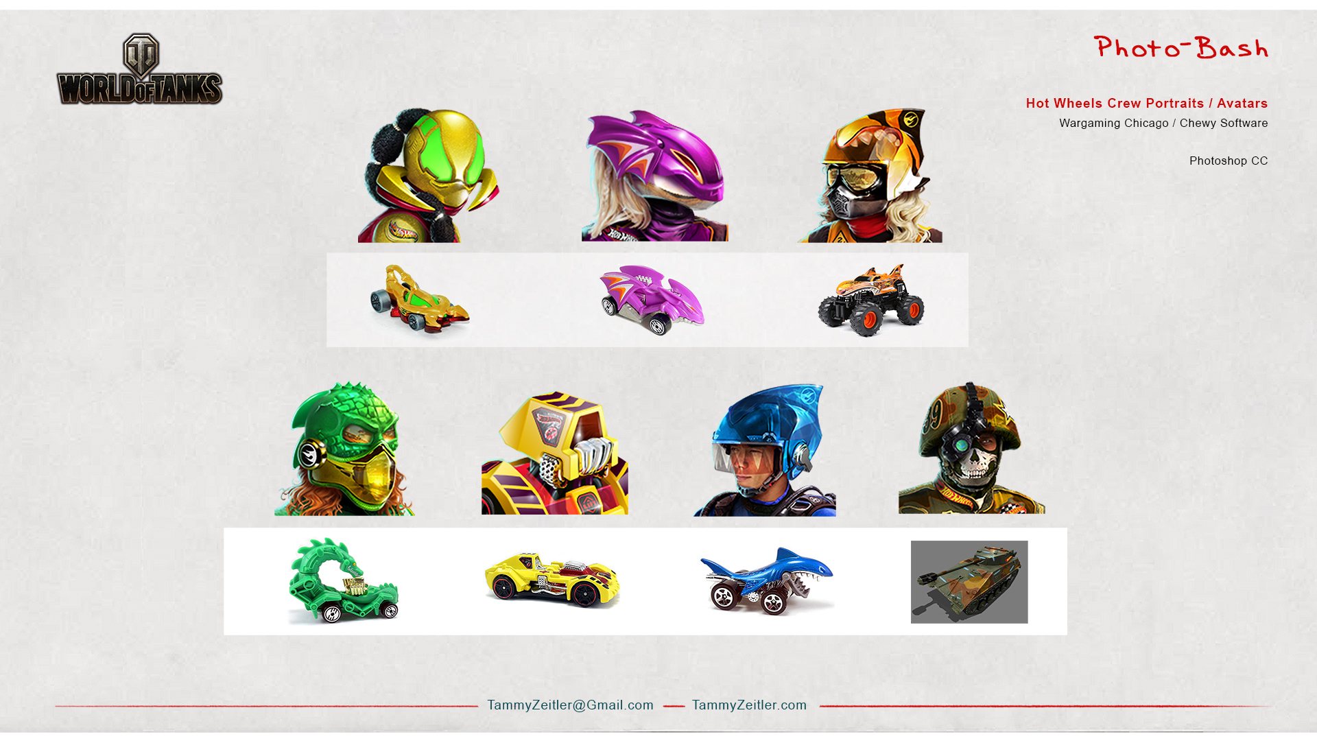 World of Tanks - Hotwheels Avatars