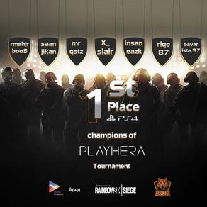 Payhera R6S Tournament فريق أسمر أبطال بطولة
