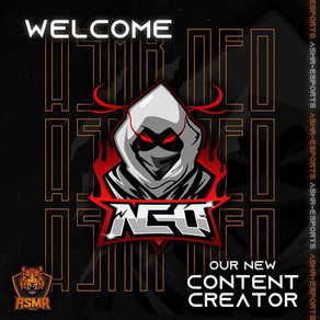 Introducing our new Content Creator: ASMR NEO ! نرحب في إنظمام صانع المحتوى أسمر نيو