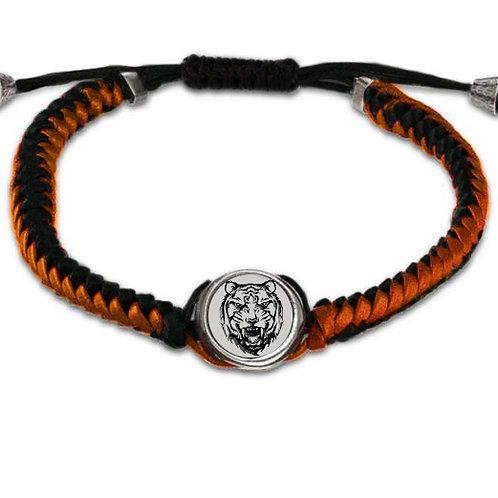 Black & Orange Bracelet